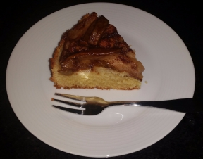 pear almond cake