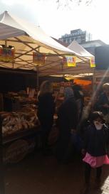 Amstelveen market - fresh bread