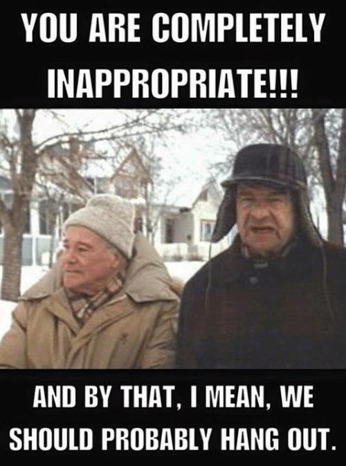 inapporpriate